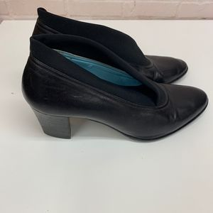 THIERRY RABOTIN Stretch Fabric Leather Heels 7